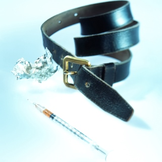 image of a belt used for drug use