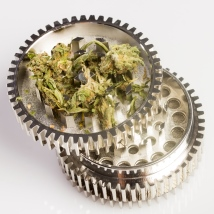 image of herb grinder